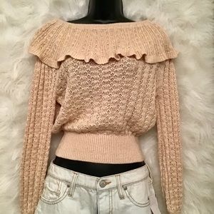 Free people sweater NWOT